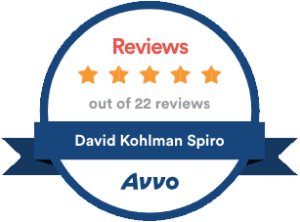 Avvo Clients' Choice Award 2018 - David Spiro